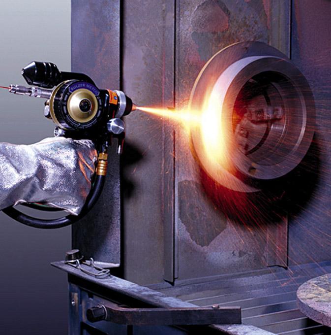 Recubrimiento de pulverización por plasma