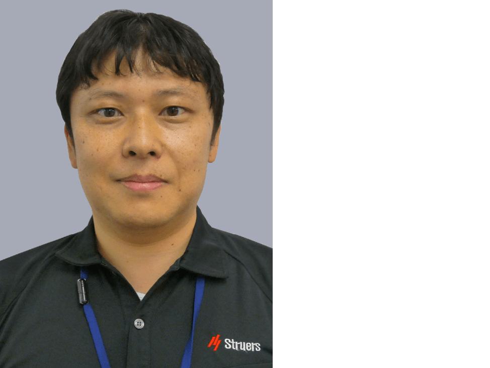 Application Specialist Yuha Hayakawa