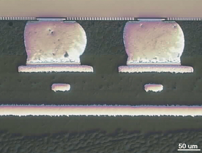 Metallographic preparation fo microelectronics
