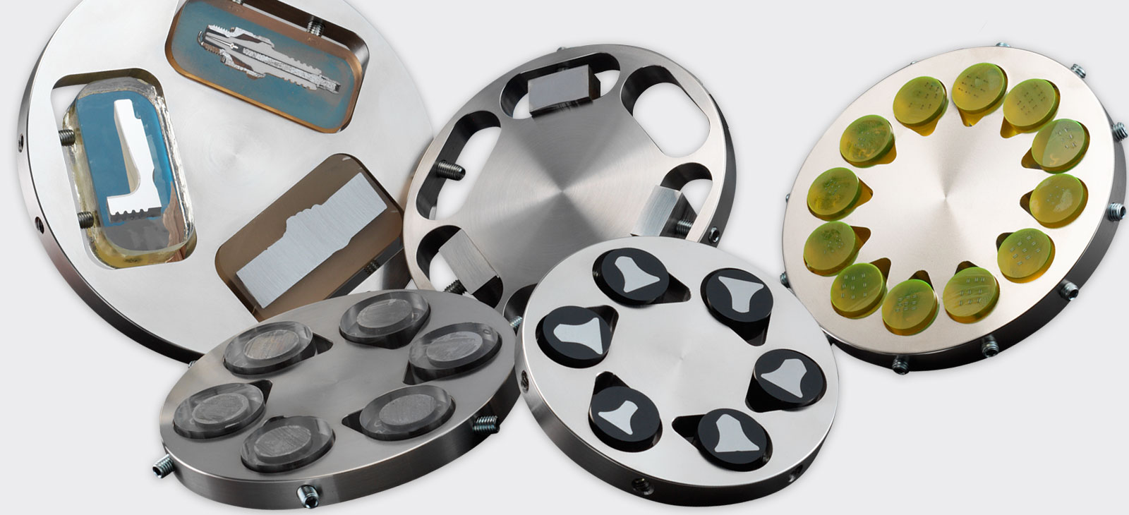 Grinding and polishing accessories