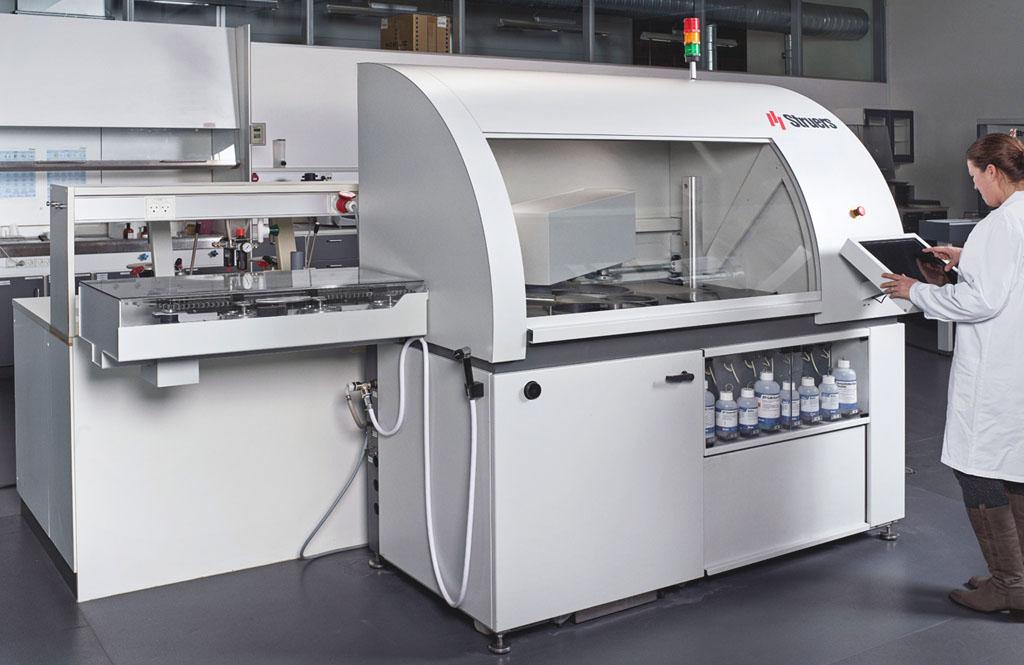 ヘキサマチック 安定した試料作製結果をもたらす高度なモニタリング機能