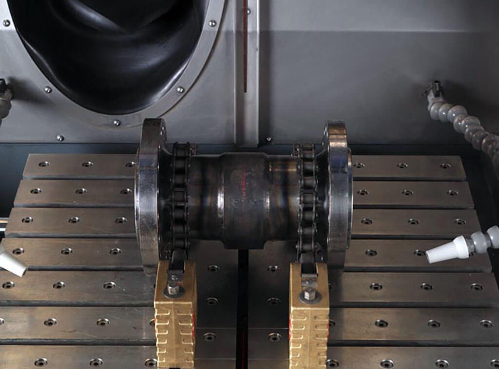 Exotom Laserlineal erleichtert Positionierung