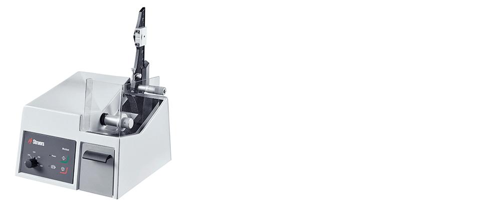 Minitom, machine à tronçonner de précision à basse vitesse