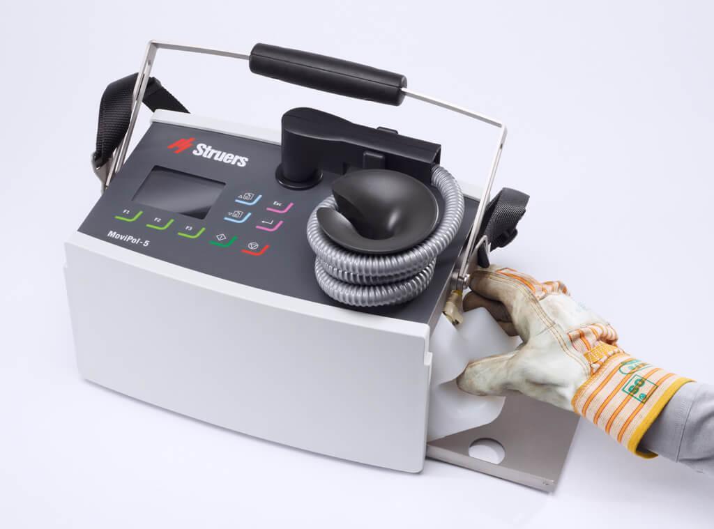 MoviPol electrolyte cartridge system