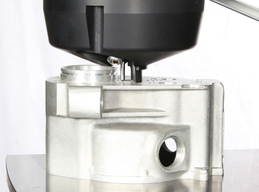 DuraVision: inicio y liberación automáticos de la muestra