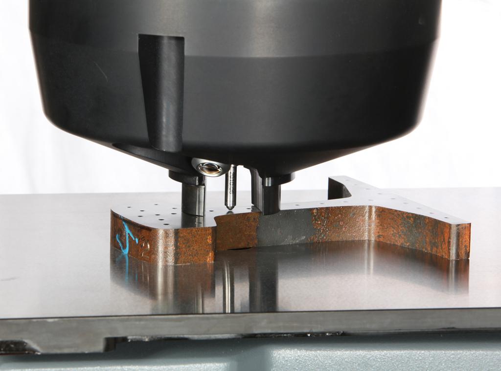DuraVision Prüfkopf zum schnellen und einfachen flexiblen Verspannen