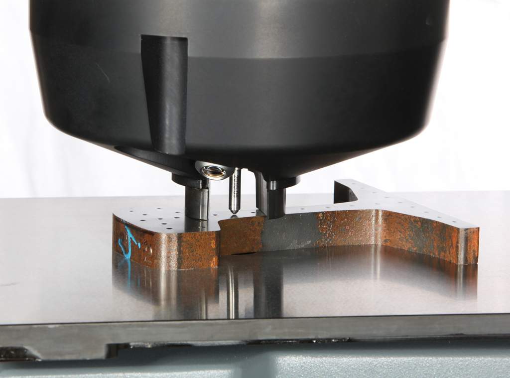 DuraVision Nose cone for easy and flexible clamping