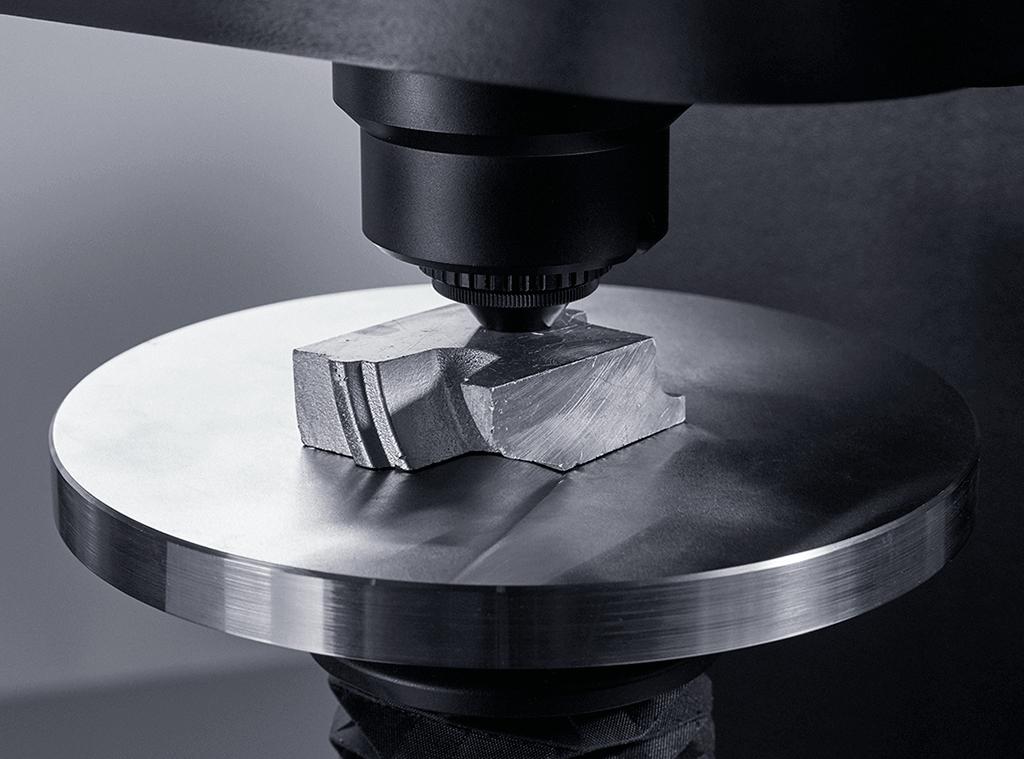 Tecnología de célula de carga de gran precisión para muestras irregulares