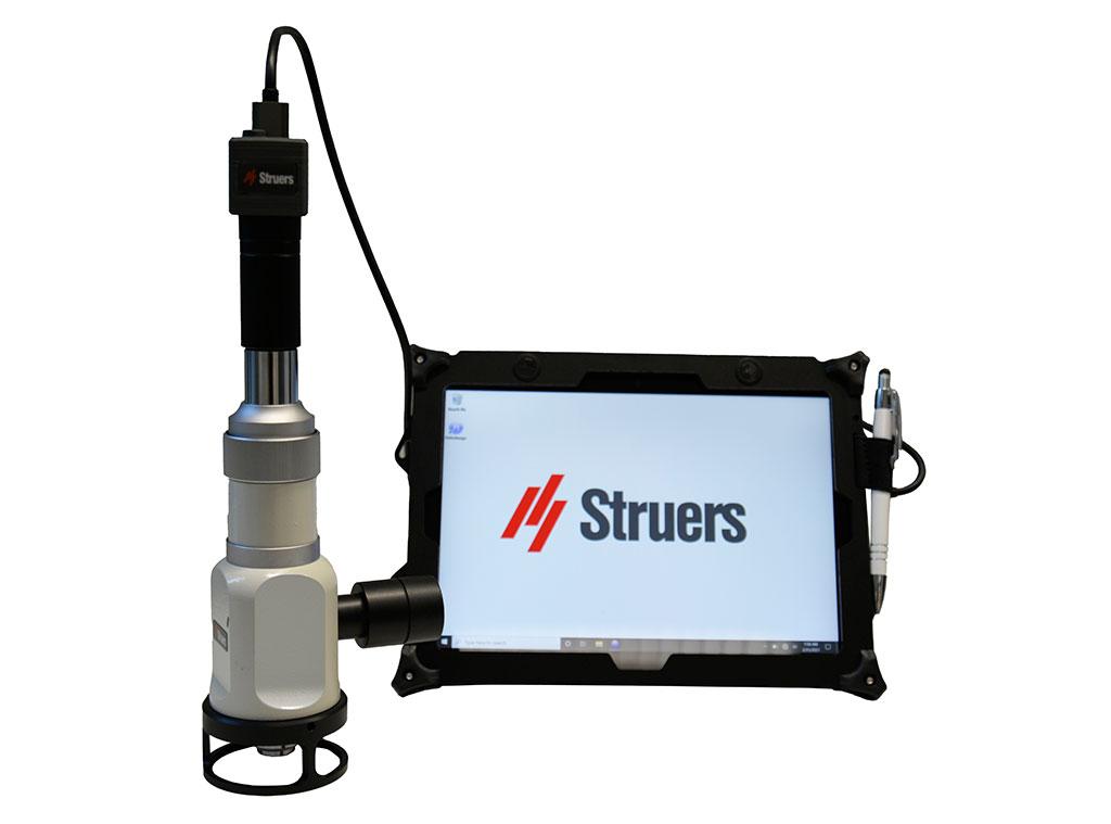 PSM Teil der Serie tragbarer Geräte für die zerstörungsfreie Prüfung von Struers