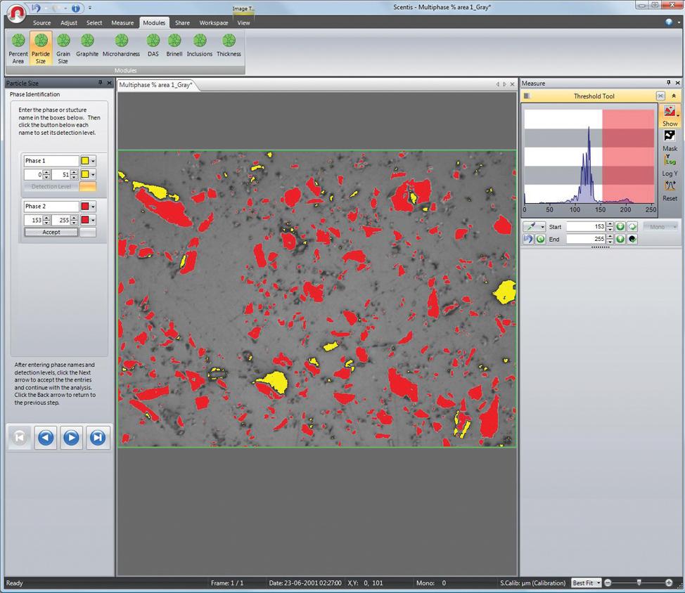 Scentis Particle Size Module(Scentis 颗粒尺寸模块)