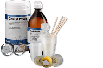 Struers cold mounting acryllic consumables