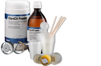 Consumibles acrílicos para embutición en frío de Struers