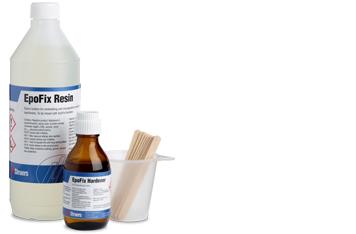 Verbrauchsmaterialien für das Einbetten mit Epoxid von Struers