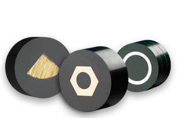 Verbrauchsmaterialien für das Einbetten mit Bakelit von Struers