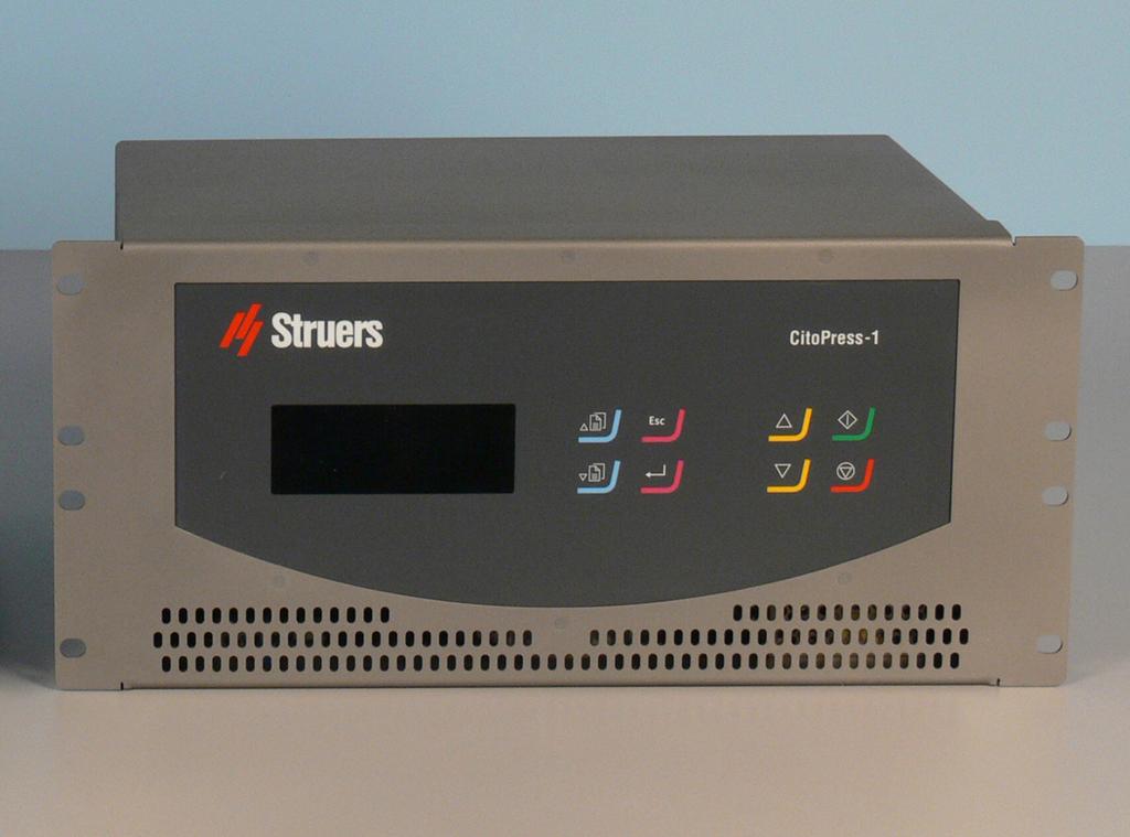 CitoPress HC Cooling options