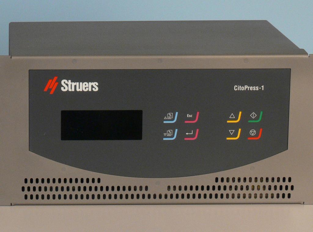 CitoPress HC con panel táctil externo