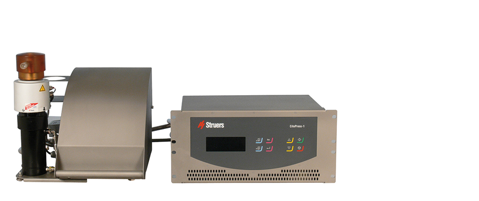 Presse d'enrobage CitoPress-1 pour cellule chaude