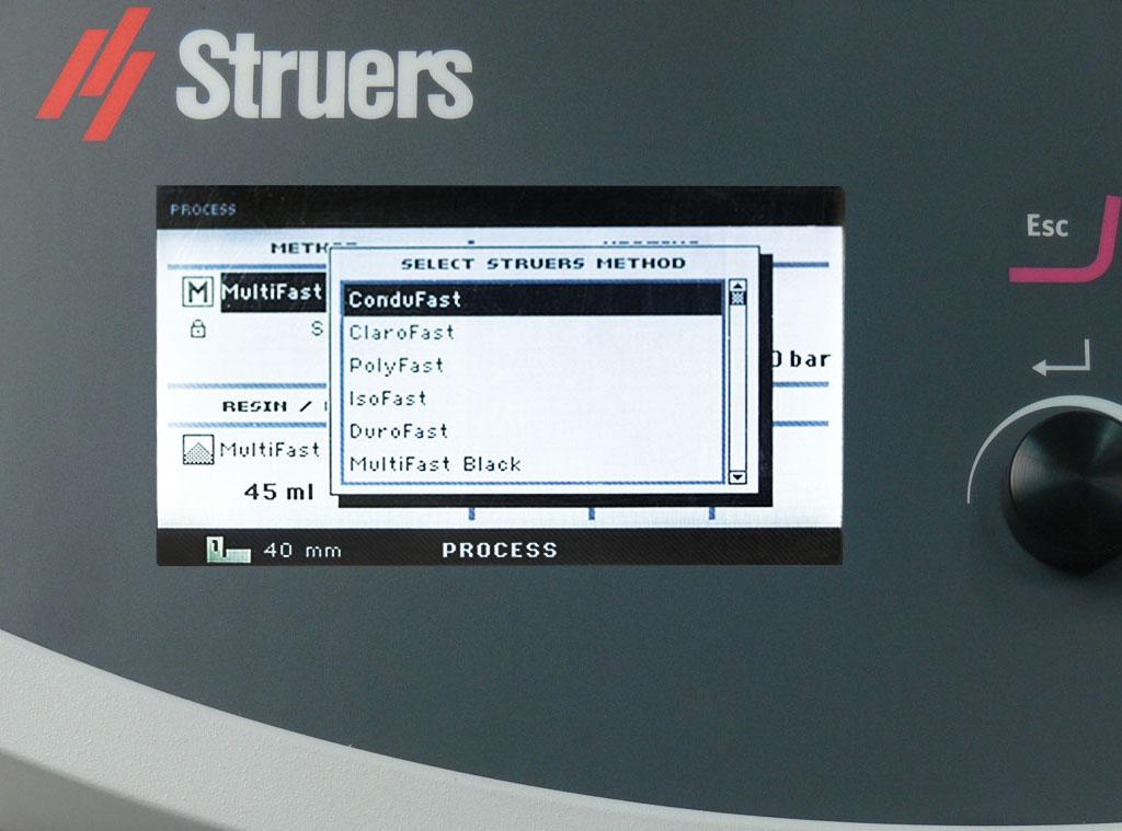 CitoPress con guía de aplicación en pantalla