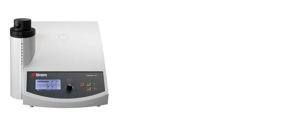 CitoPress-15 是一款先进的电液可编程单筒镶样机。
