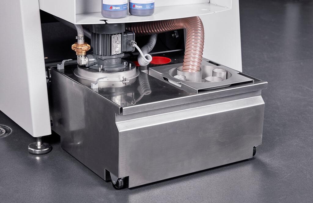 AbraPol 30 integrated recurculation pump