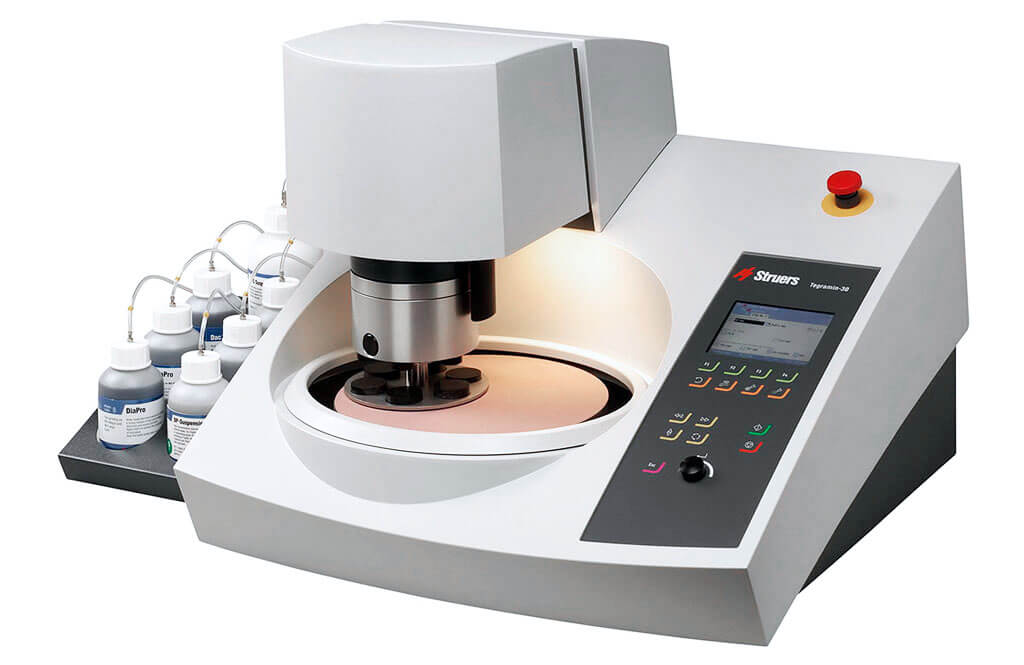 Tegramin powerful preparation system for high-quality specimen preparation