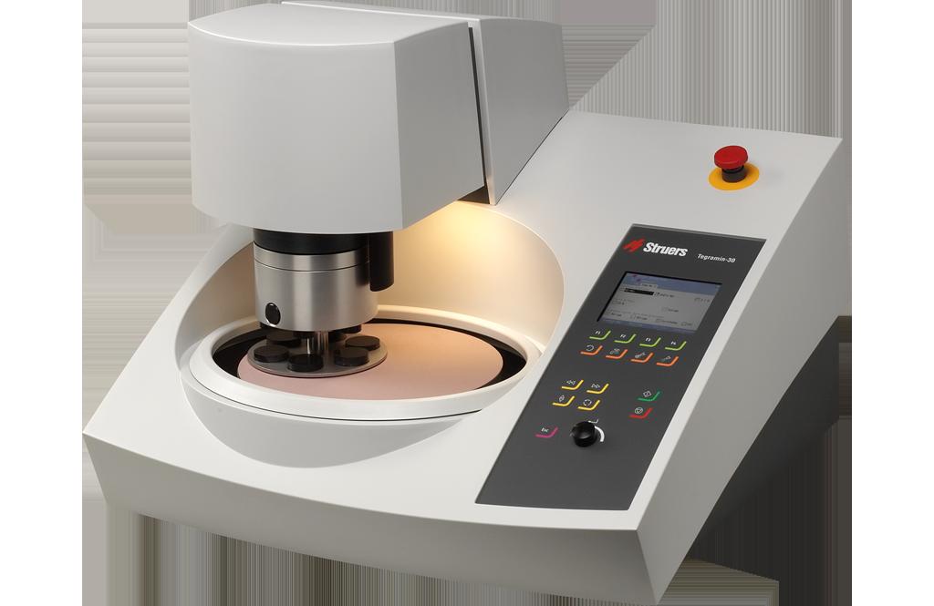 Tegramin powerful preparation system for high-quality specimen preparation