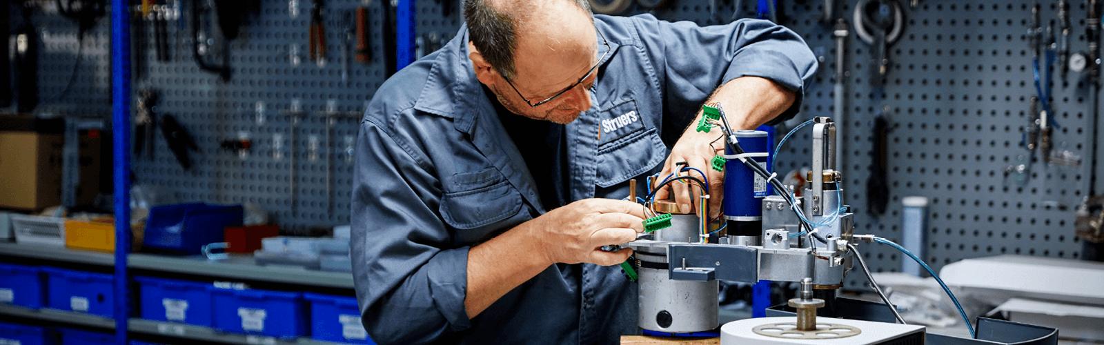 Struers Workshop Repair Service